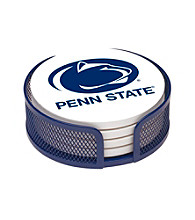 Thirstystone® Penn State University 4-pc. Coaster Set with Holder