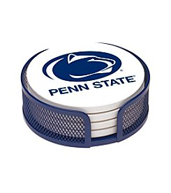 NCAA® Penn State University 4-pc. Coaster Set with Holder