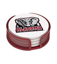 Thirstystone® University of Alabama 4-pc. Coaster Set with Holder