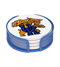 Thirstystone® University of Kentucky 4-pc. Coaster Set with Holder