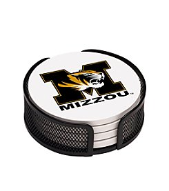 NCAA® University of Missouri 4-pc. Coaster Set with Holder