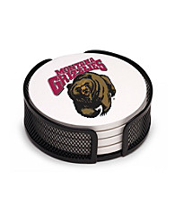 Thirstystone® University of Montana 4-pc. Coaster Set with Holder