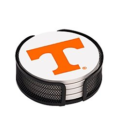 NCAA® University of Tennessee 4-pc. Coaster Set with Holder