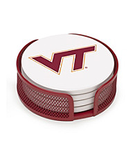 Thirstystone® Virginia Tech 4-pc. Coaster Set with Holder