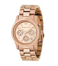 Michael Kors® Rose Goldtone Stainless Steel Watch