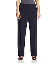 Briggs New York® Flat-Front Pull-On Pant