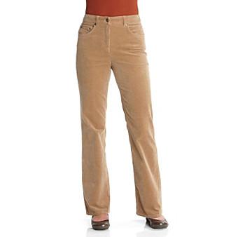 Jones New York Sport® Bootcut Stretch Corduroy Pants