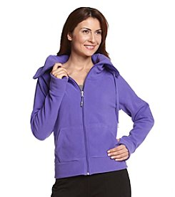 Calvin Klein Performance Zip-front Funnelneck Fleece Jacket
