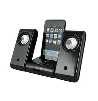 Infinite International, Inc. Foldable iPod iPhone Docking Speaker