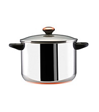 Paula Deen® Signature Stainless Steel Cookware 8-qt. Covered Stockpot