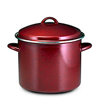 Paula Deen® Signature Enamel on Steel 12-qt. Covered Stockpot