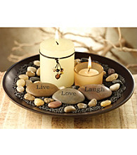 The Pomeroy Collection Sentiments Candle Garden
