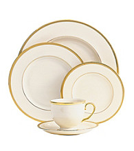 Lenox® Tuxedo Gold 5-piece Place Setting