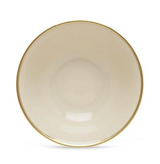 "Lenox® Tuxedo Gold 9 3/8"" Serving Bowl"