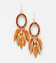 Silver Forest® Autumn Multi Dangles Earrings