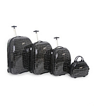 IT Luggage Shiny Croc Luggage Collection