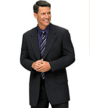 Gold Series™ Men's Big & Tall Suit Separate Sportcoat with Jacket Relaxer™ - Black