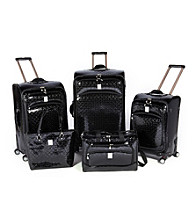 Jenni Chan Quattro 360-degree Luggage Collection - Bows