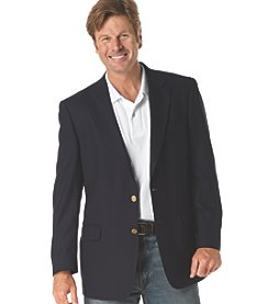 Silver Edition® Men's Big & Tall Traveler Technology™ Blazer - Navy