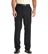 Silver Edition® Men's Big & Tall Stretch-waist Flat-front Pants