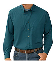 Harbor Bay® Men's Big & Tall Easy-care Sport Shirt