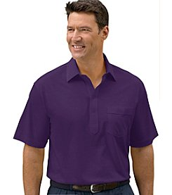 Canyon Ridge® Men's Big & Tall Classic Knit Golf Shirt