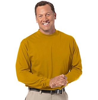 Upc 883828547762 canyon ridge men 39 s big tall mock for Big and tall mock turtleneck shirt
