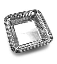 Wilton Armetale® Flutes & Pearls Collection - Square Bowl