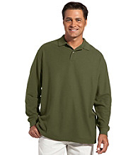 Harbor Bay® Men's Big & Tall Piqué Polo
