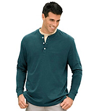 Harbor Bay® Men's Big & Tall Henley Tee