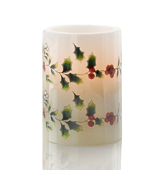 Product: Pfaltzgraff® Winterberry Flameless Candle :  home decor candles candle