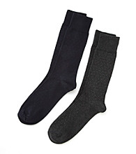 Kenneth Roberts Platinum® Pima Cotton Pindot Socks