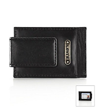 Levi's® Men's Card Case Magnetic Wallet - Black