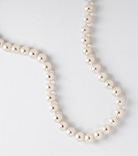 7mm Freshwater Pearl Strand with Sterling Silver Clasp
