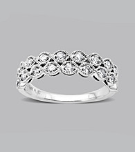 10K White Gold .46 ct. t.w. Diamond Band Ring