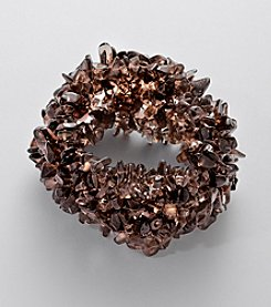 Effy® Smoky Quartz Beads Stretch Bracelet