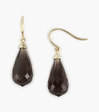 Effy® 14K Gold Smoky Quartz Earring