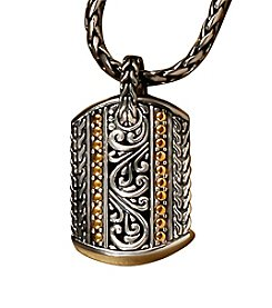 Effy® Sterling Silver and 18K Gold Pendant