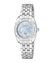 Citizen® Women's Eco Drive Paladion Mother-of-Pearl Watch