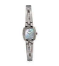 Citizen® Women's Mother of Pearl Dial Stainless Steel Watch