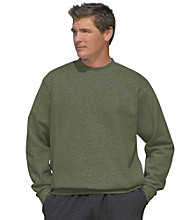 Reebok® Men's Big & Tall Fleece Crewneck Sweatshirt