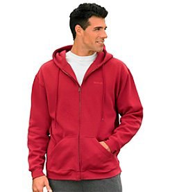 Reebok® Men's Big & Tall Full-zip Fleece Hoodie