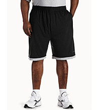 Reebok® Men's Big & Tall Jersey Slider Shorts