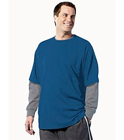 Canyon Ridge® Men's Big & Tall Layered-look Tee