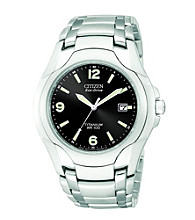 Citizen® Men's Eco-Drive Titanium WR100 Watch