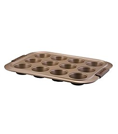 Anolon® Bronze Collection Bakeware 12-Cup Muffin Pan