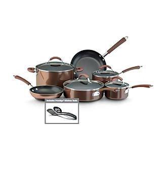 Farberware® Millennium 12-pc. Bronze Aluminum Nonstick C