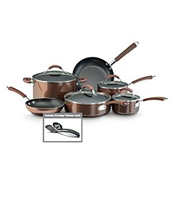 Farberware® Millennium 12-pc. Bronze Aluminum Nonstick Cookware Set