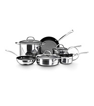 Farberware® Millennium Stainless Steel 10-pc. Nonstick Cookware Set
