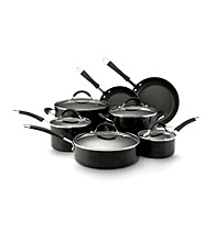 KitchenAid® Black Porcelain Nonstick 12-pc. Cookware Set